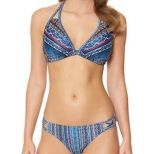 Jessica Simpson swim Bikini top & bottom set NWT